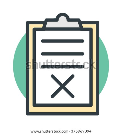 wrong article vector icon