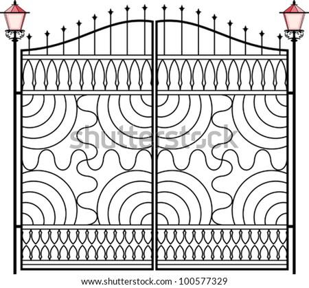 Wrought Iron Gate, Door, Fence, Window, Grill, Railing Design ...