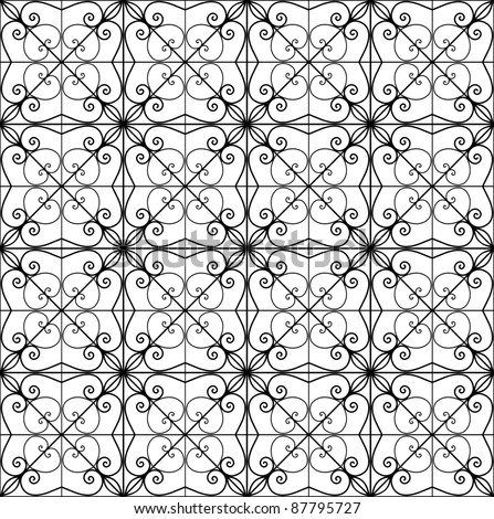 wrought-iron - separate cubes grouped
