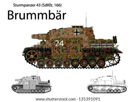ww2 german brummbar self