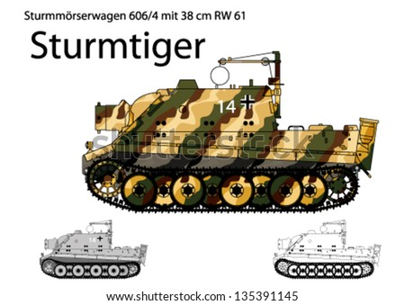ww2 german sturmtiger self