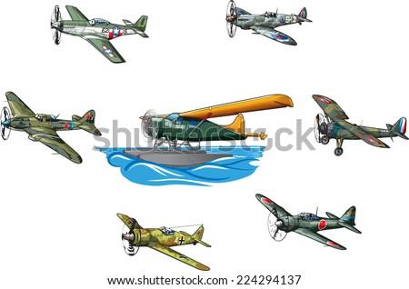 ww ii military aircraft