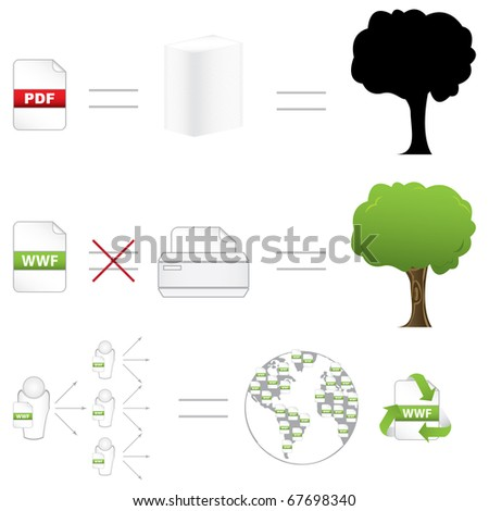 WWF file format - it's like a PDF that's impossible to print.New unprintable file format to Save Trees