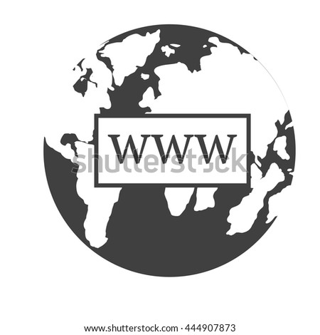 www icon  internet sign icon
