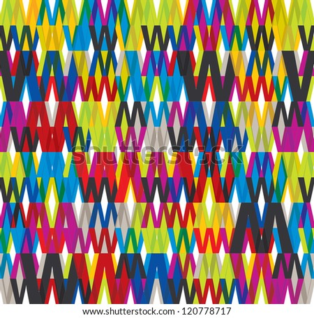 WWW seamless pattern, vector background.