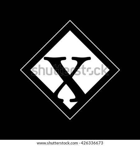 x logo vector graphic