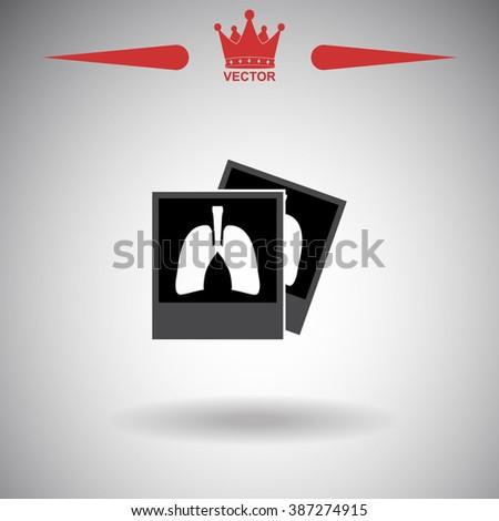 x ray icon x ray icon vector