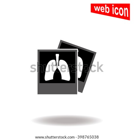 x ray of lungs icon x ray of