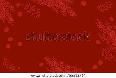 xmas simple red background