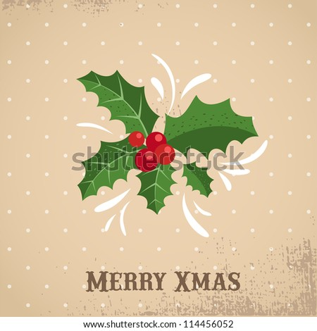 Xmas vector background banner