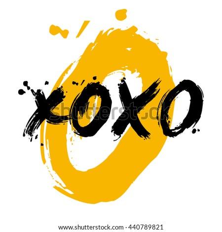 xoxo love hugs and kisses text
