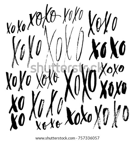 xoxo phrase collection ink
