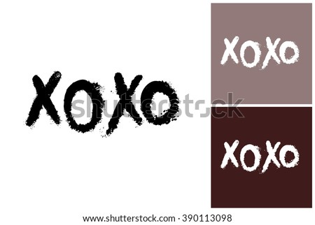 xoxo vector fashion image