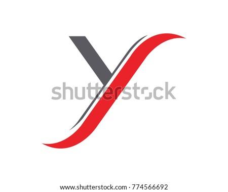 Y Letter Logo Template vector icon design