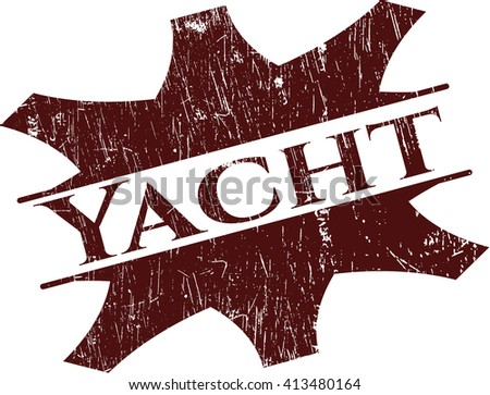 Yacht rubber grunge texture seal