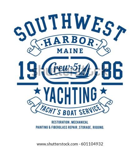 yachting sport marine...