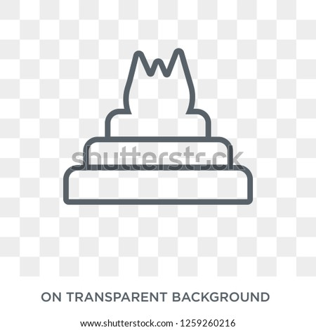 yagna icon trendy flat vector