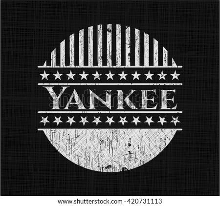 Yankee chalk emblem