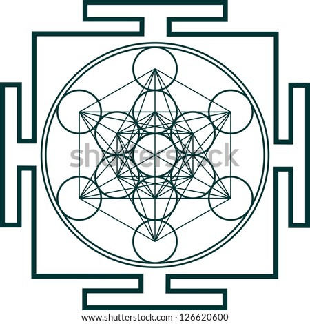 Yantra - Metatrons Cube - Flower of life