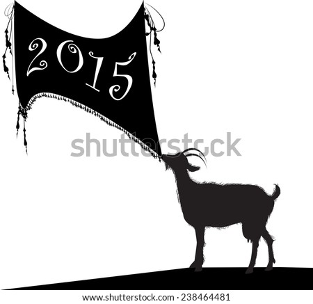 year of the goat  goat with