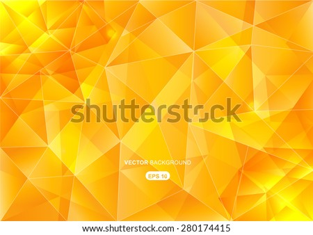 yellow abstract  geometric