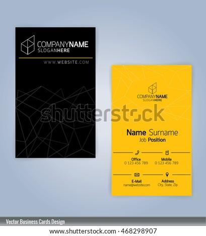 yellow and black modern