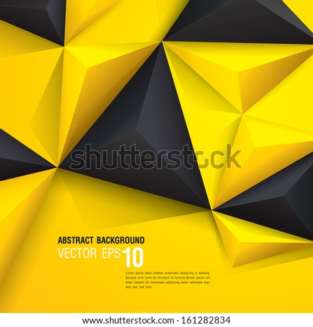 yellow and black vector