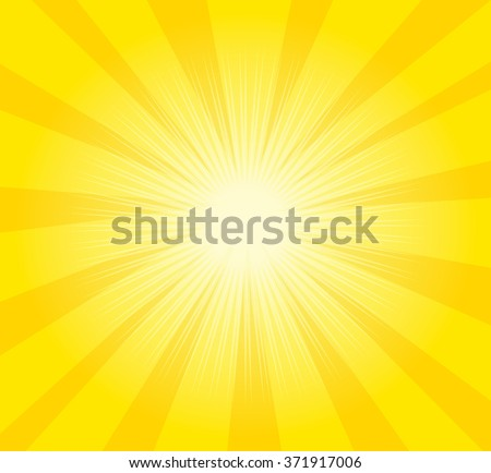 Yellow background, sun light background