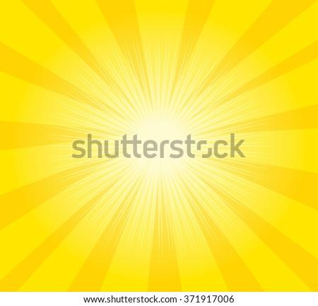 Yellow background, sun light background