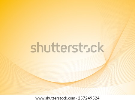 yellow background with curves