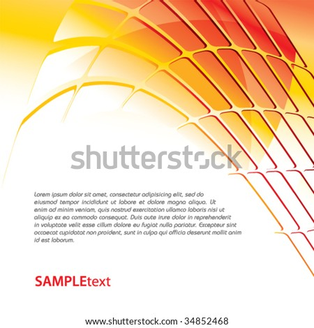 Yellow business background design series