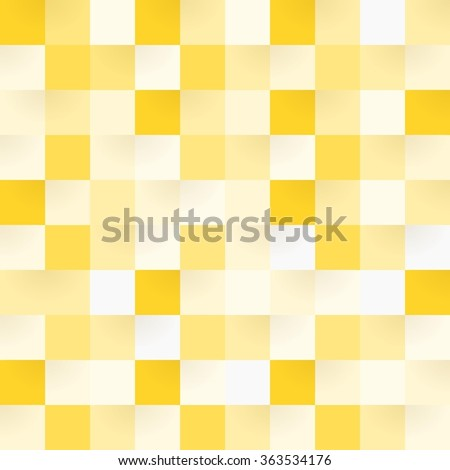 yellow checkerboard square