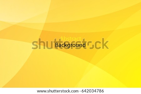 Yellow color background abstract art vector