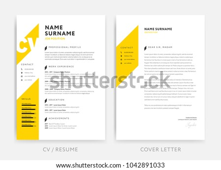 vector curriculum vitae graphic designer download free vector art