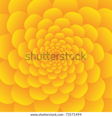 yellow flowers background. stock vector : yellow flower