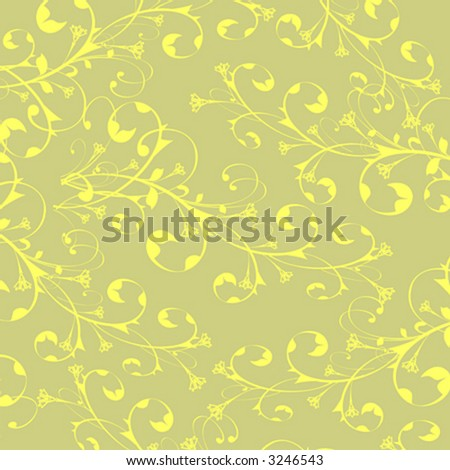 yellow flowers background. stock vector : yellow flowers