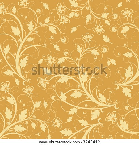 flower background wallpaper. stock vector : yellow flowers