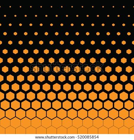 yellow honeycomb and black background