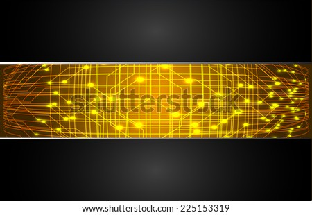 yellow light abstract