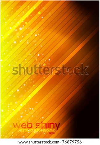 yellow light lines background