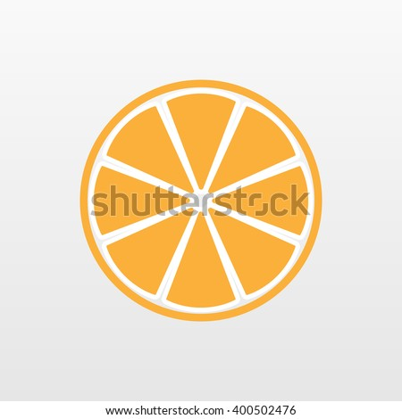yellow orange fruit icon