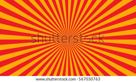 stock-vector-yellow-orange-rays-poster-popular-ray-star-burst-background-television-vintage-dark-light-bright
