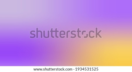 Yellow Pastel Vibrant Modern Design Backdrop. Pink Modern Lavender Gradient Mesh Illustration. Violet Empty Purple Smooth Watercolor Colorful Surface. Bright Soft Blank Trendy Frame Background. Foto stock ©