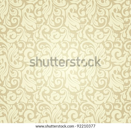 Yellow pattern seamless, vector