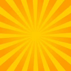 Yellow pop art comic background with blast halftone dot.Cartoon comic explosion pattern with radial sun. Comic background in retro style. vector eps10
