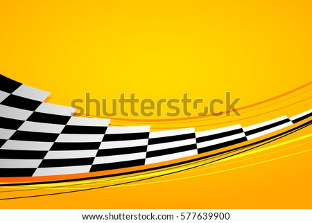 yellow racing background  sport