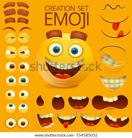 yellow smiley face character