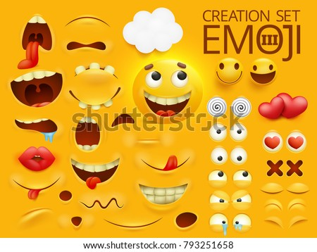yellow smiley face emoji