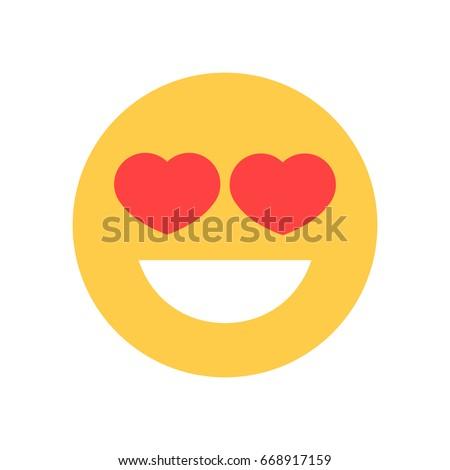 yellow smiling cartoon face