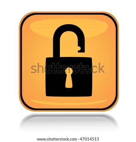 Icon Yellow Yellow Square Icon Unlocked